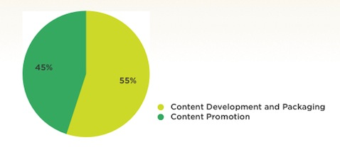 Pie chart: allocating your marketing budget strategically