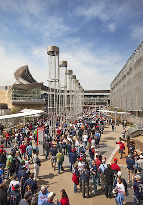 Populous Designed Target Field In Minneapolis. [Photo Credit: Paul Crosby]
